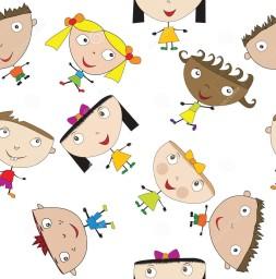 reticolo-senza-giunte-con-i-bambini-stilizzati-23500496-2